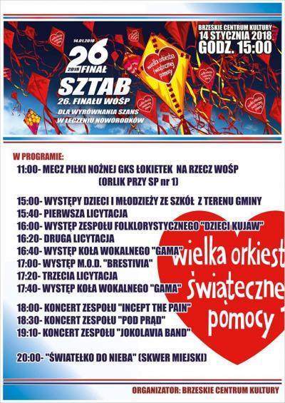 WOŚP- Brześć Kujawski