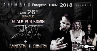 ANIMALS EUROPEAN TOUR 2018