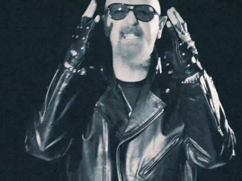 """Screen pochodzi z klipu Judas Priest """"Spectre"""