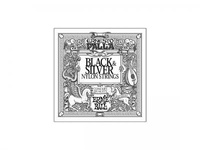 Struny gitarowe: Black&Silver.