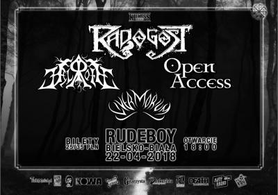 Radogost (Folk Metal), Helroth (Pagan/Folk Metal), Open Access (Power folk metal)