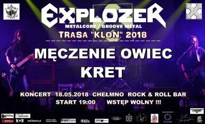 Explozer w Chełmnie & Męczenie Owiec & Kret