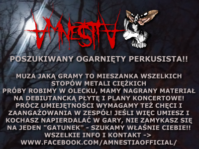 AmnestiA POSZUKUJE PERKUSISTY!!