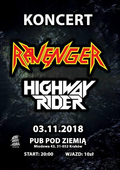 Ravenger & Highway Rider @ Pub pod ziemią