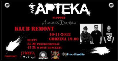 Apteka / Access Denied w Klubie Remont.