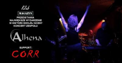 Koncert ALHENA i CORR