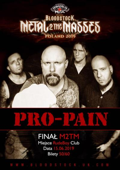 Pro Pain finał Metal 2 the Masses Polska.