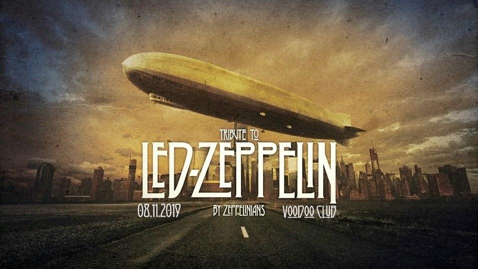 Tribute to Led Zeppelin / 08.11.2019 / VooDoo Club / Warszawa