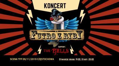 Koncert Futro z Ryby | The Bells