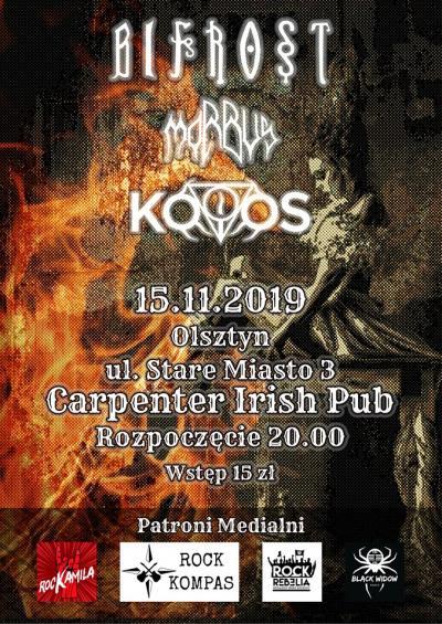 KOIOS/Morbus/Bifrost w Carpenter Olsztyn