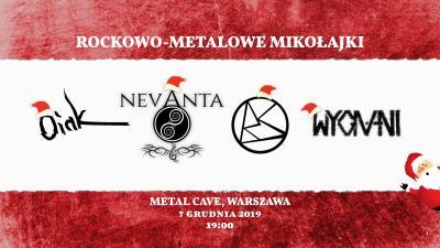 Rockowo-metalowe (post)Mikołajki! METAL CAVE