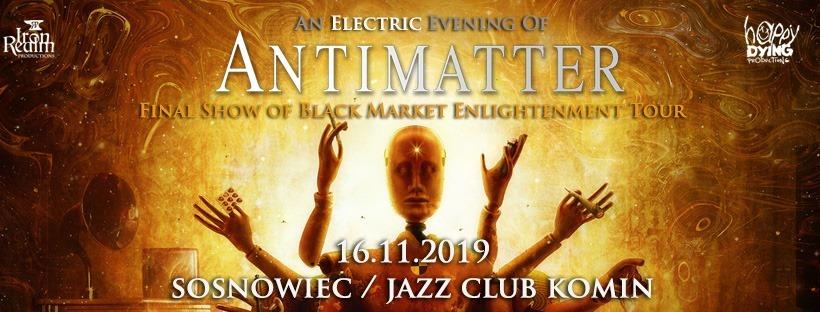 Antimatter - 16.11 / Sosnowiec