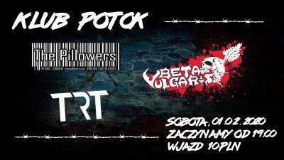 Beta Vulgaris, TRT i The Pillowers w Potoku!