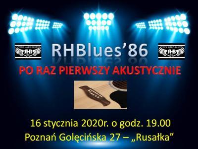 Koncert akustyczny zespołu RHBlues 86
