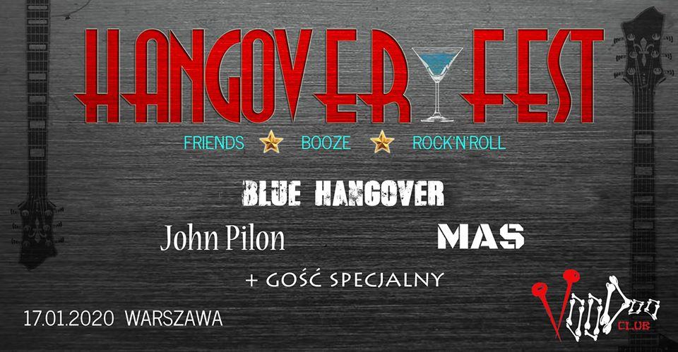 Hangover Fest Vol.1 - Blue Hangover x MAS x John Pilon Band