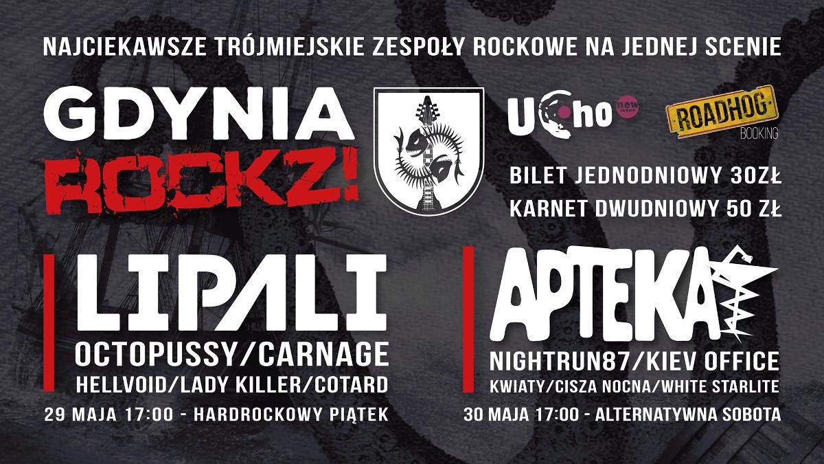 GdyniaROCKZ!2020:12 trójmiejskich zespołów, 2 dni rock'n'rolla!