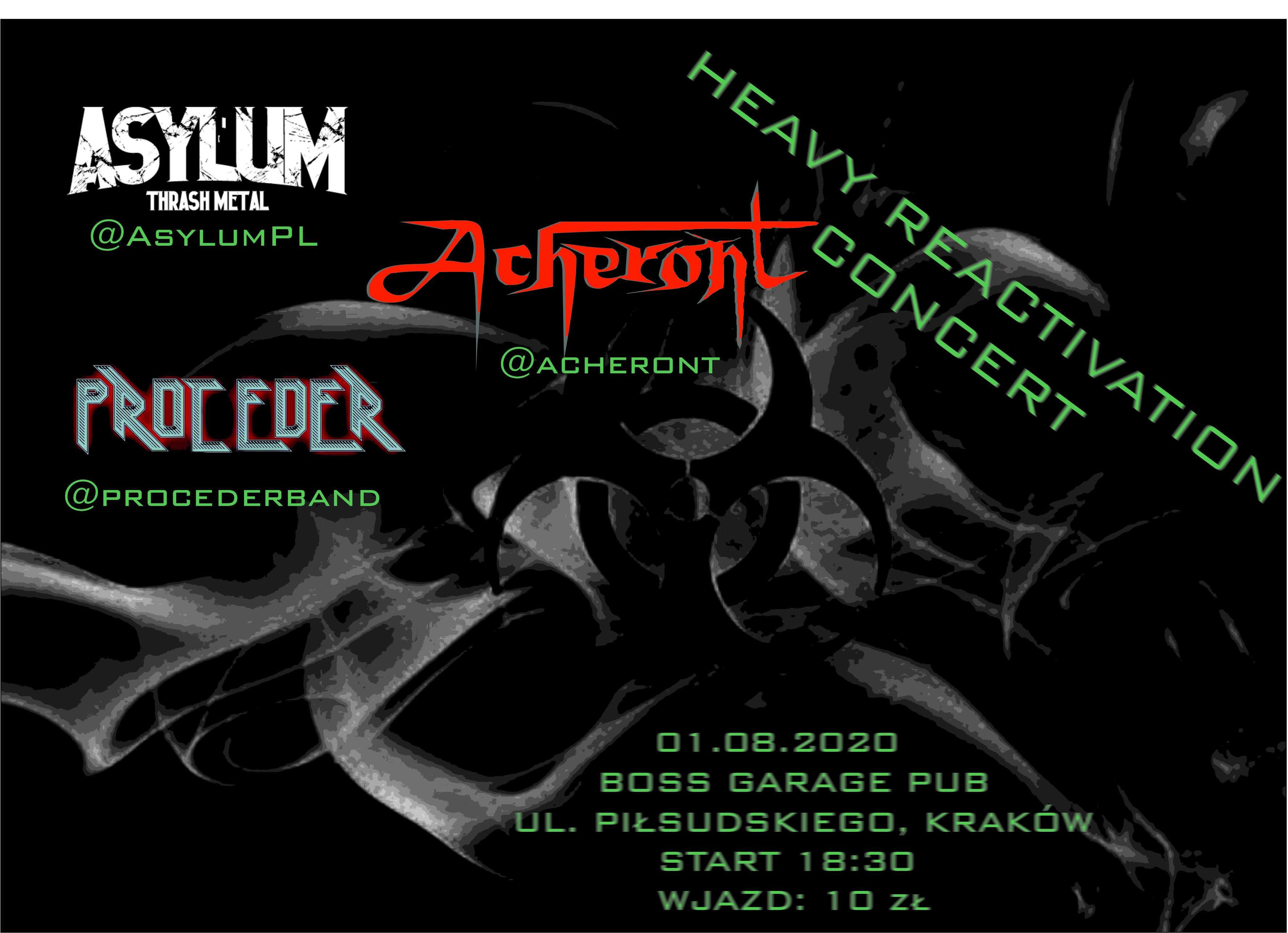 Heavy Reactivation Concert