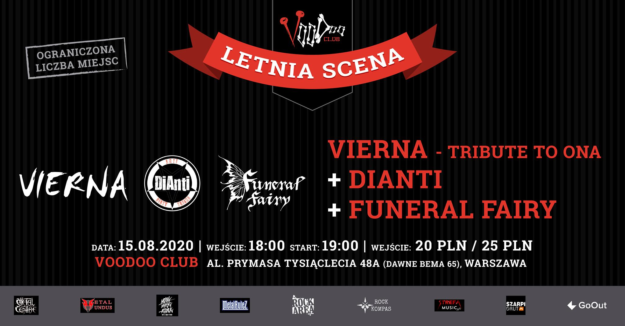 Vierna - Tribute to O.N.A, Dianti, Funeral Fairy -LetniaScena VD