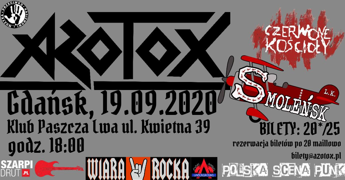 Gdańsk Paszcza Lwa:Azotox Smolensk Czerwone Koscioly!