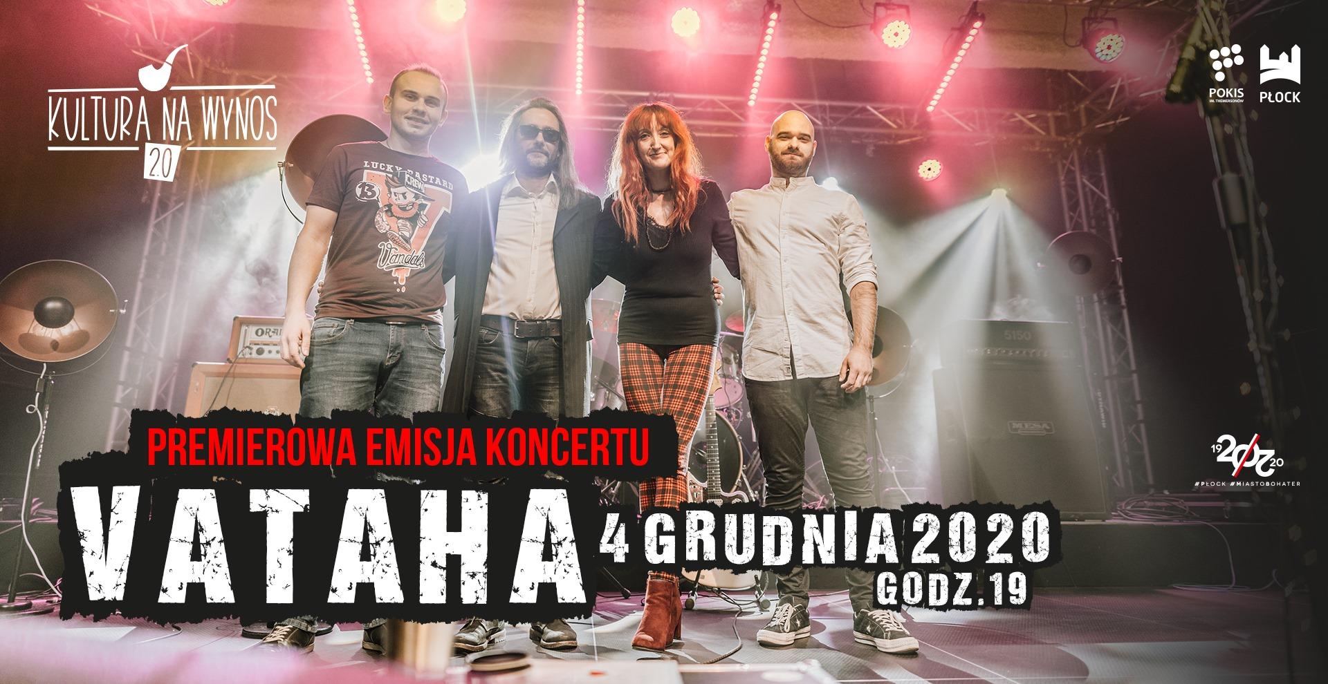 Premierowa emisja koncertu VATAHY | Kultura na wynos 2.0