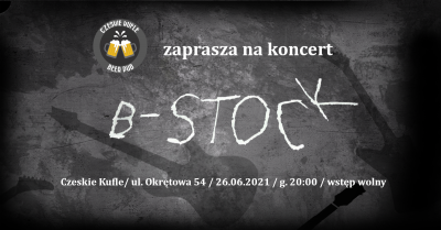 Koncert zespołu B-Stock