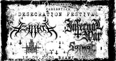 Desecration Festival: Azarath + Infernal War + In Twilight's Embrace + Sarmat
